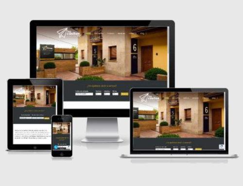 Nuevo diseño web para Las Casitas de Santillana