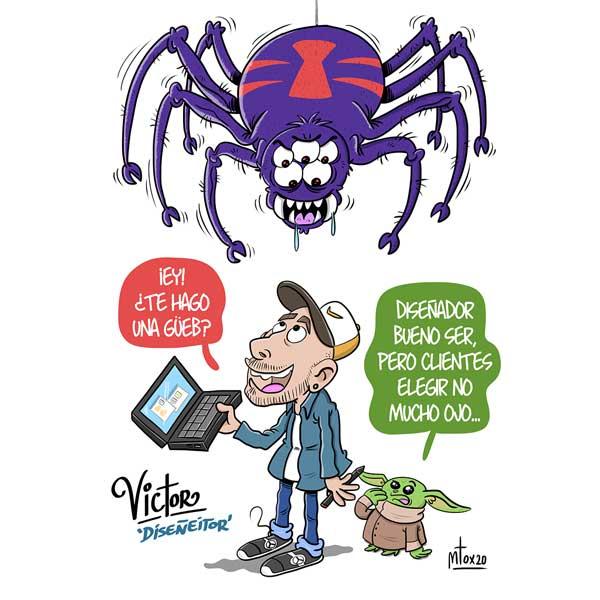 Diseño gráfico publicidad Cantabria Victor